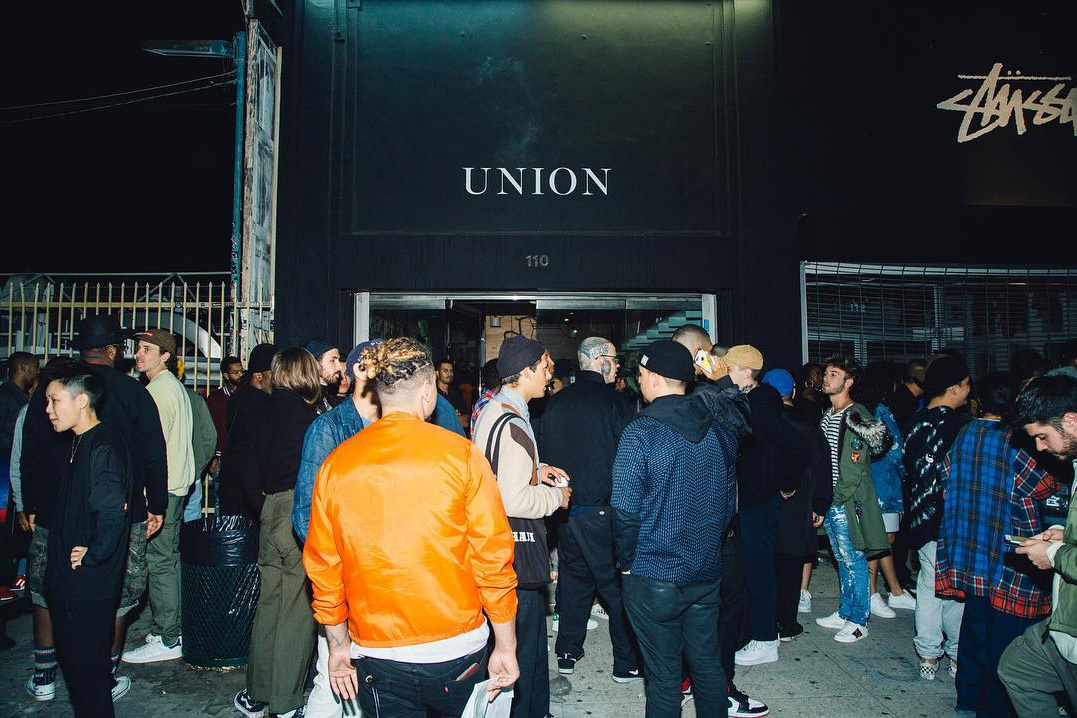 Union & ROKIT Launch New Collection With a Lively In-Store Party