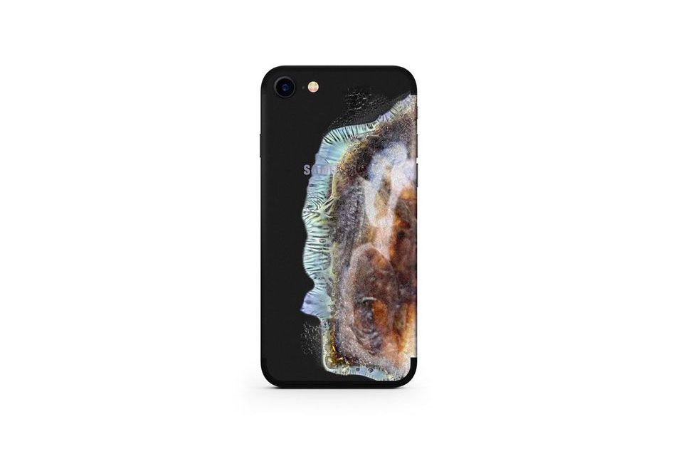 Exploded Samsung Note 7 iPhone Decal Case Uniqfind