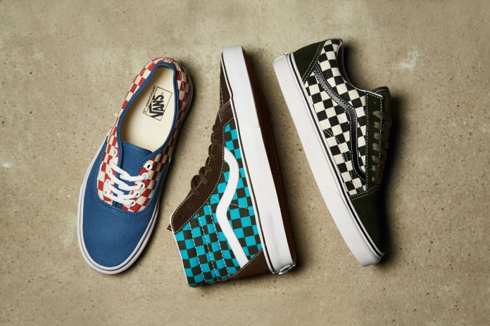 Vans Incorporates the Timeless Check Pattern for Its 50th Anniversary Canvas Collection