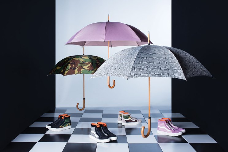Vault by Vans Turns Its Attention to Umbrellas With London Undercover Collaboration