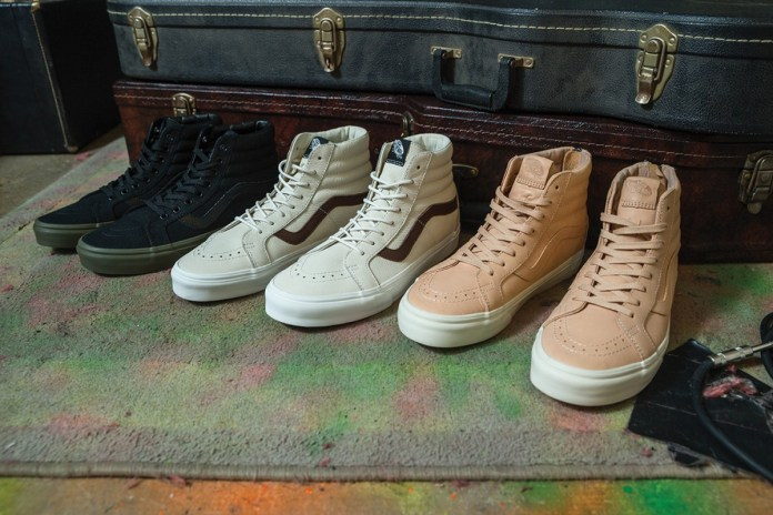 Vans Sk8-Hi Receives Premium Iterations for Fall/Winter 2016