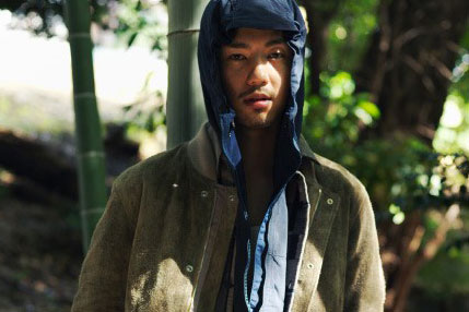vendor's Newest Editorial Spotlights Japanese Winter Wear
