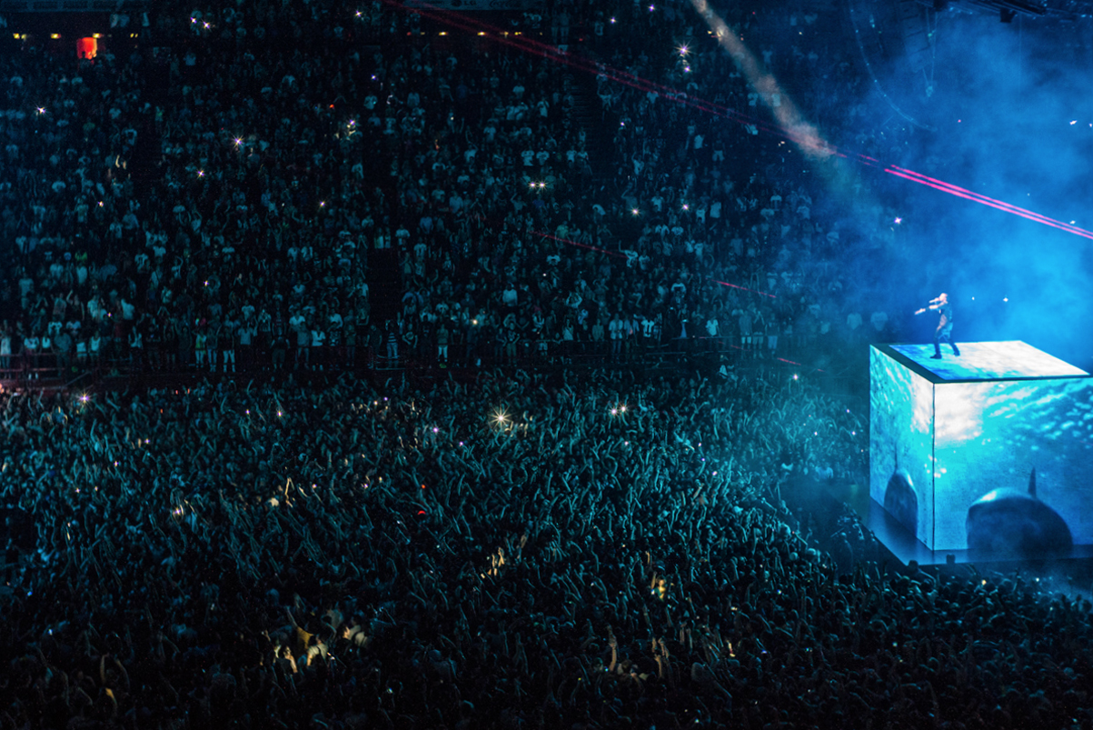 Kanye West Tour Stage Design Timeline Guide College Dropout Touch The Sky Glow In The Dark Watch the Throne Yeezus Saint Pablo