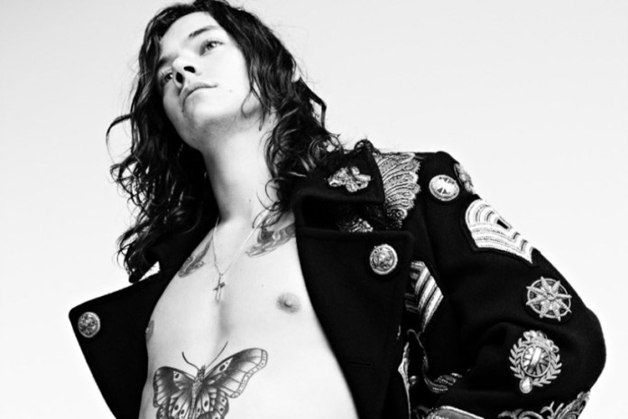 Willy Vanderperre Shoots Harry Styles for 'AnOther Magazine'
