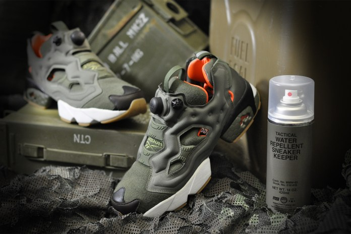 Winiche & Co. Joins mita sneakers for a Flight Jacket-Inspired Reebok Instapump Fury OG