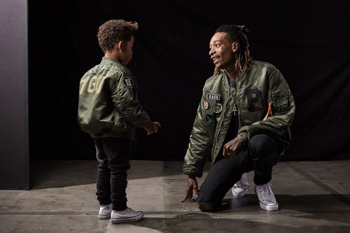 Wiz Khalifa and His Son Collaborate on a Clothing Line