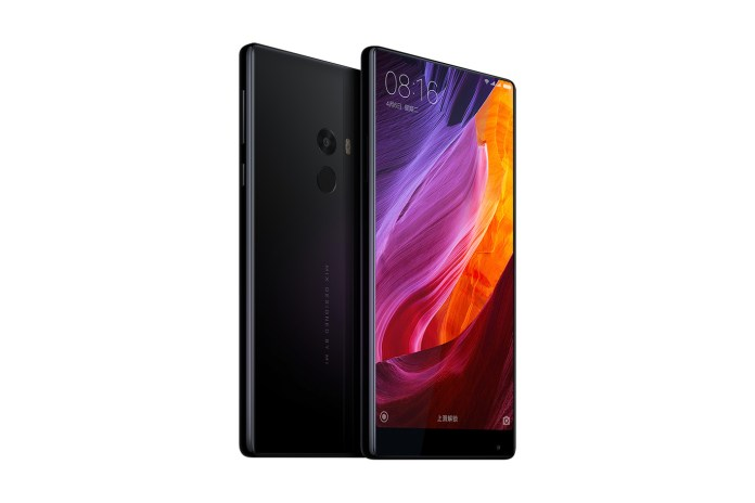 Xiaomi's Mi Mix Is the Current Cream of the Edgeless Smartphone Crop
