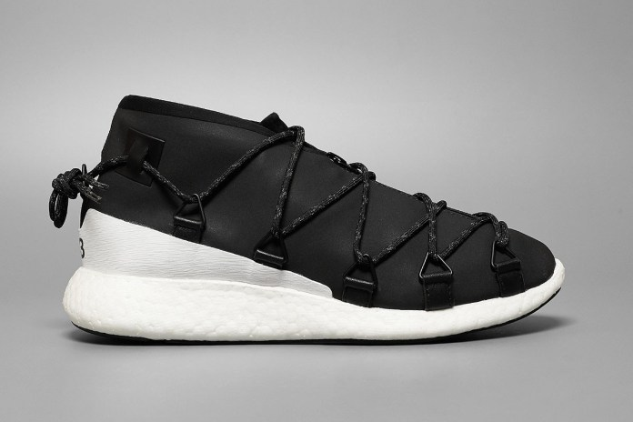 Yohji Yamamoto Ties up the adidas Y-3 Cross Lace Run