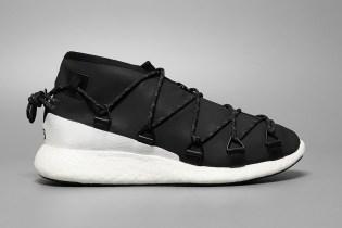 Yohji Yamamoto Ties up the adidas Y-3 Cross Lace Run