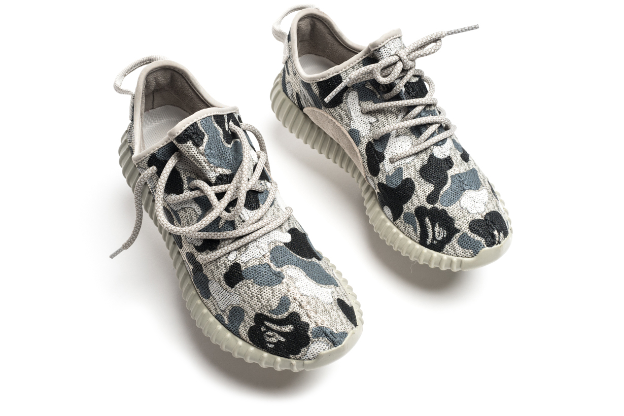 "The Yeezy Boost 350 ""Moonrock"" Gets a BAPE Camo Makeover"