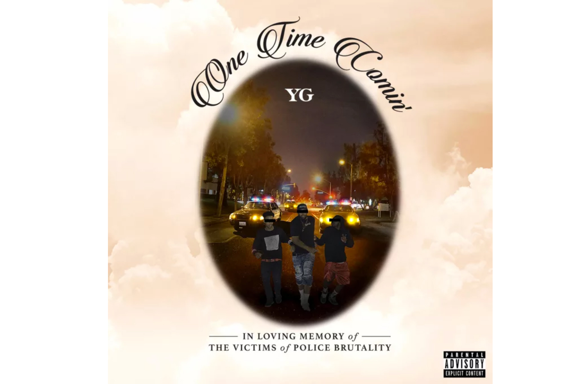 "YG Releases New Song ""One Time Comin'"" About Police Brutality"