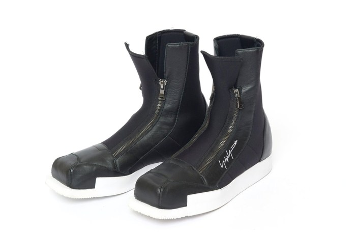 Yohji Yamamoto and adidas Collaborate on a Set of Ski-Inspired Boots