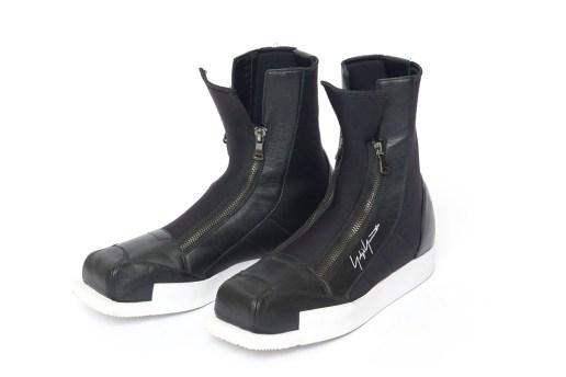 Yohji Yamamoto and adidas Collaborate on a Set of Ski-Inspired Boots