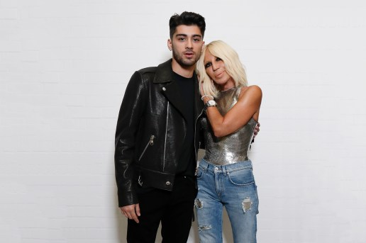 Zayn Malik Spreads His Fashion Wings as Partnership Announced With Versus Versace