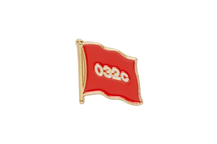 Pledge Your Allegiance to '032c' With Its New Set of Pins