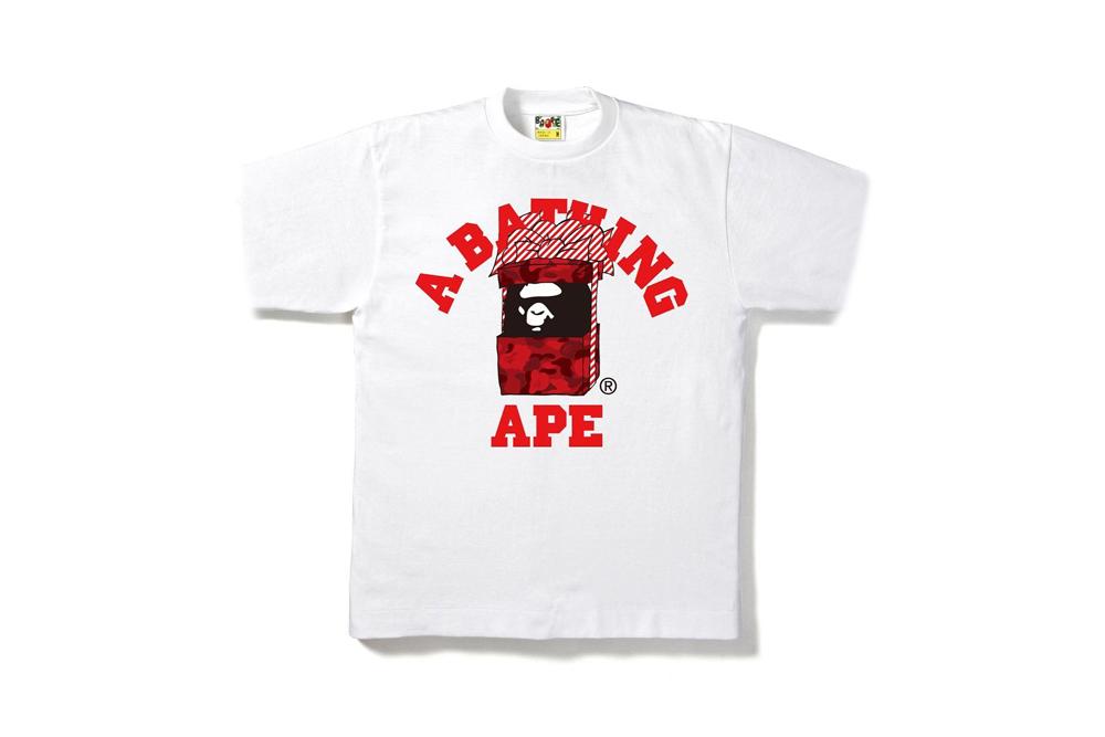 A Bathing Ape Bape 2016 Holiday T Shirt