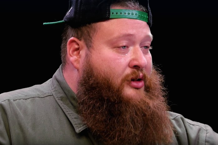 Watch a Teary-Eyed Action Bronson Power Through the 'Hot Ones' Challenge