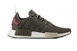 adidas Delivers the NMD R1 in a Seasonal Combo of Olive & Maroon