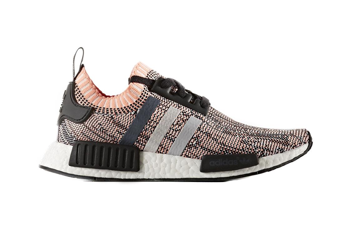 Adidas originals nmd primeknit quot salmon pink quot hypebeast