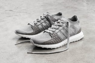 "adidas Originals Officially Reveals Its ""King Push"" EQT Grayscale Pusha T Collaboration"