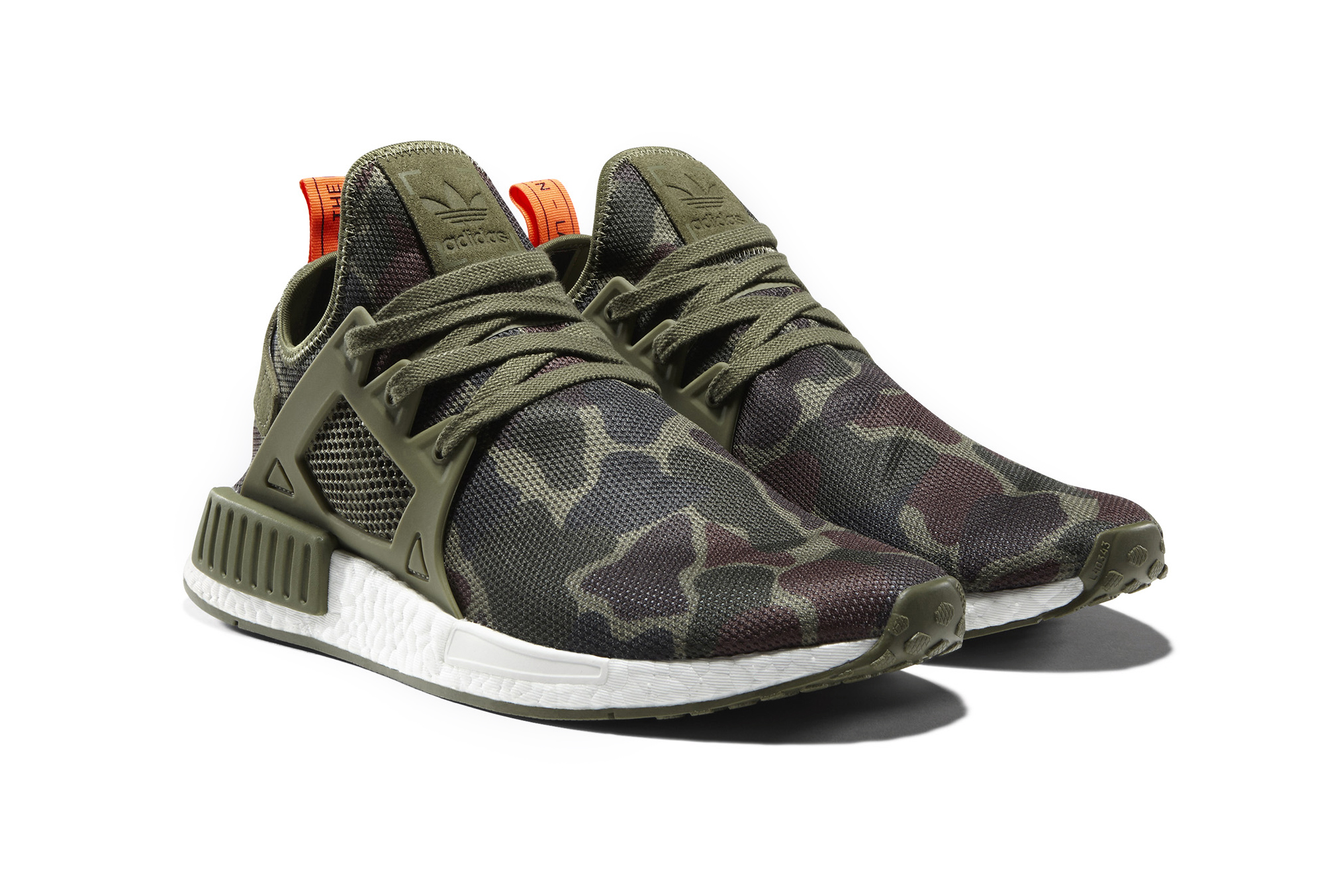 adidas Originals NMD XR1 Camo In Black, Blue, White, Pink