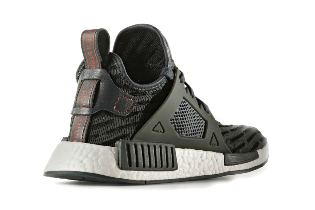 adidas Originals NMD XR1 Utility Ivy BOOST midsole Cage Leather heel strap Three Stripes