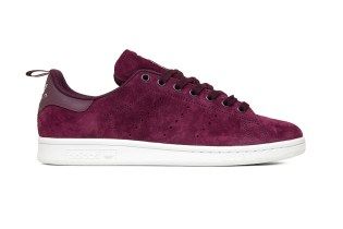 adidas Originals Stan Smith Receives a Maroon Suede Makeover