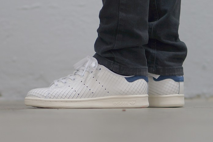 adidas Stan Smith Takes on a Sliced Leather Makeover
