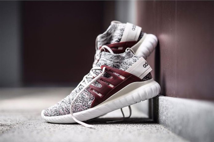 Get Excited for the adidas Originals Tubular Nova Primeknit Colorway in Maroon