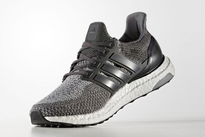 adidas Drops a New Grey UltraBOOST