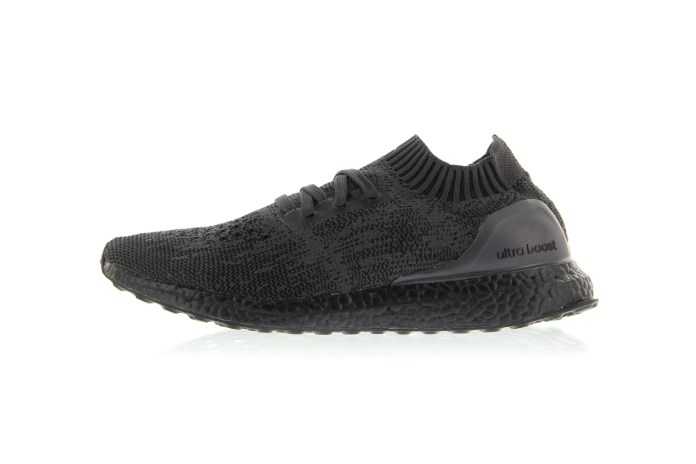 """The """"Triple Black"""" adidas UltraBOOST Uncaged Is Just Days Away"""