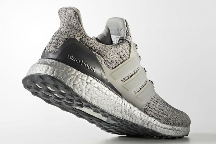 adidas UltraBOOST 3.0 Silver Colorway Three Stripes BOOST Technology TPU Cage - 1807638