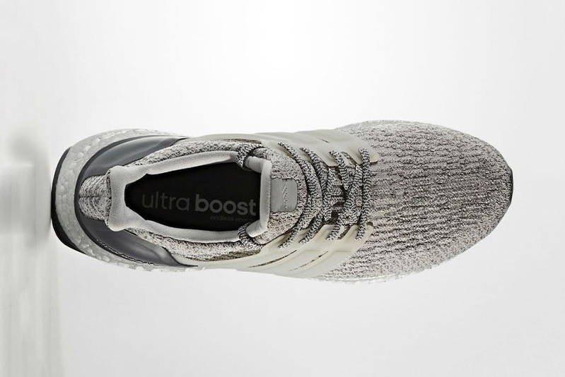 adidas UltraBOOST 3.0 Silver Colorway Three Stripes BOOST Technology TPU Cage - 1807640