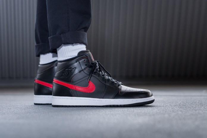 Jordan Brand Released a New Colorway of Its Mid-Cut Air Jordan 1