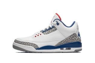 "Air Jordan 3 ""True Blue"" Official Imagery Has Finally Surfaced"