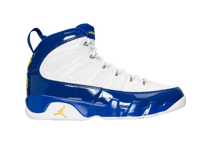 "The Commemorative Air Jordan 9 ""Kobe"" Finally Receives Release Date"