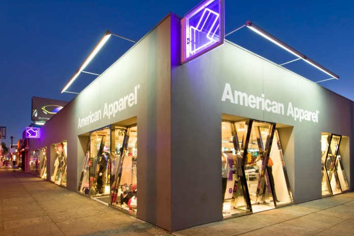 American Apparel Files for Bankruptcy Again