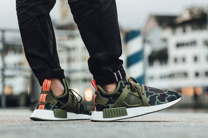 """An On-Foot Look at the Upcoming adidas NMD XR1 """"Duck Camo"""" Pack"""