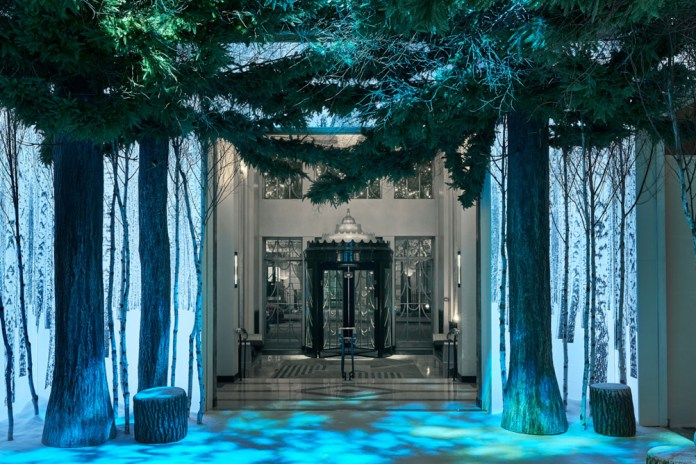 Apple's Jony Ive & Marc Newson Reveal Their Immersive Christmas Installation at Claridge's