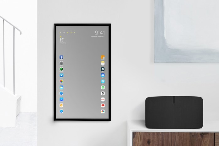 This Is What a Smart Mirror Designed by Apple Might Look Like