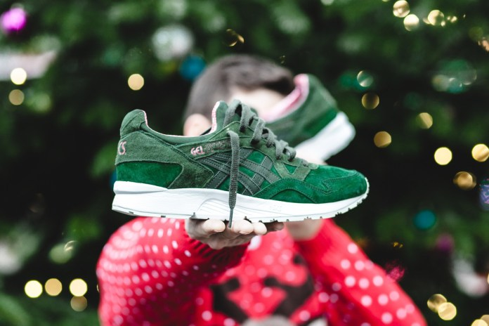 """ASICS Gears up for the Holiday Season With """"X-Max"""" GEL-Lyte V"""