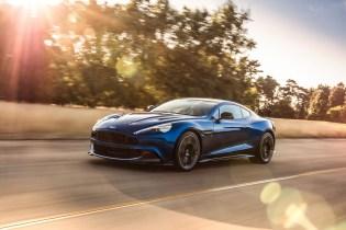 Aston Martin's Vanquish Receives a Subtle Revamp