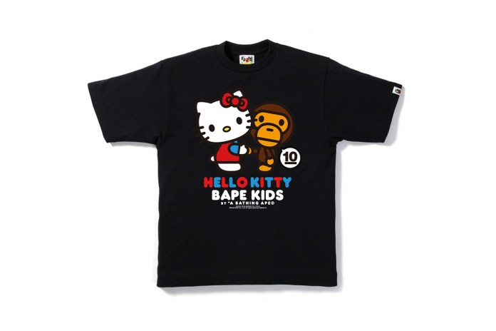 BAPE KIDS Teams up With Hello Kitty and My Melody for 10th Anniversary Collection