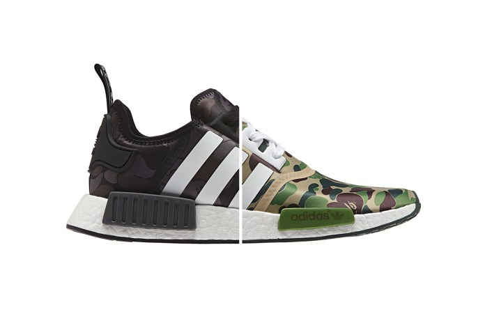 Here Are the Official Store Links for the BAPE x adidas Originals NMD
