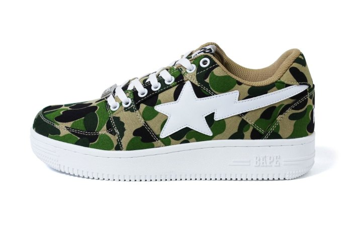 "The BAPESTA Gets the ""ABC Camo"" Treatment"