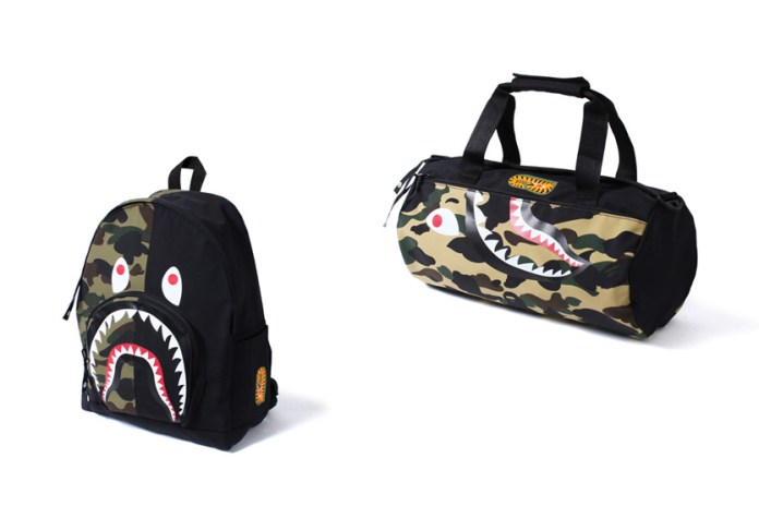 BAPE's New Shark Bags Will Add Some Bite to Your Accessory Game
