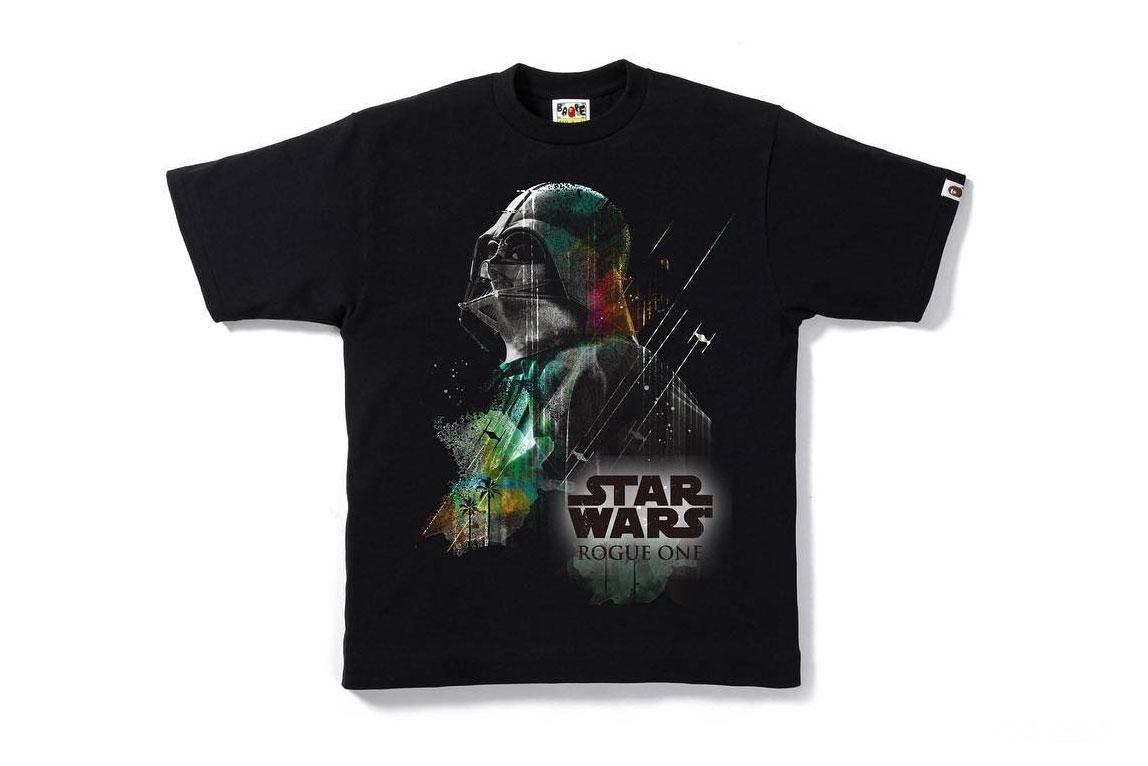 BAPE lanzará una colección especial de playeras de Star Wars