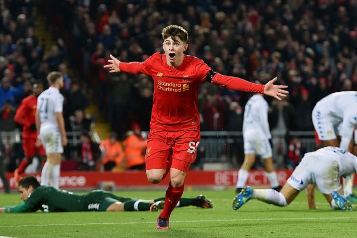 Ben Woodburn Becomes Liverpool's Youngest Ever Goalscorer