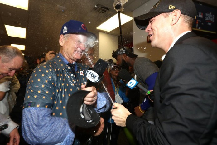 Famous Cubs Fan Bill Murray Fights Tears and Asks to Close Chicago Schools in Post-Game Interview