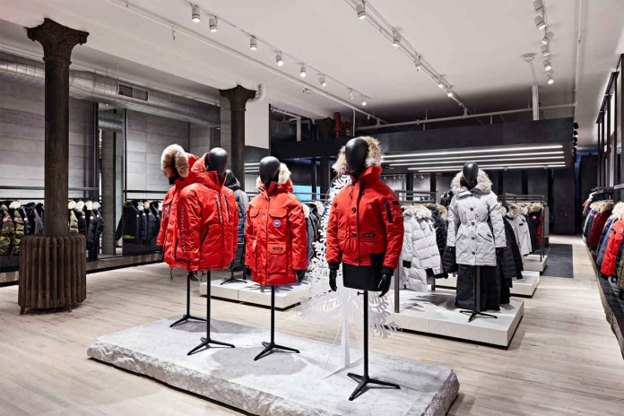 Canada Goose Launches Flagship Store in NYC